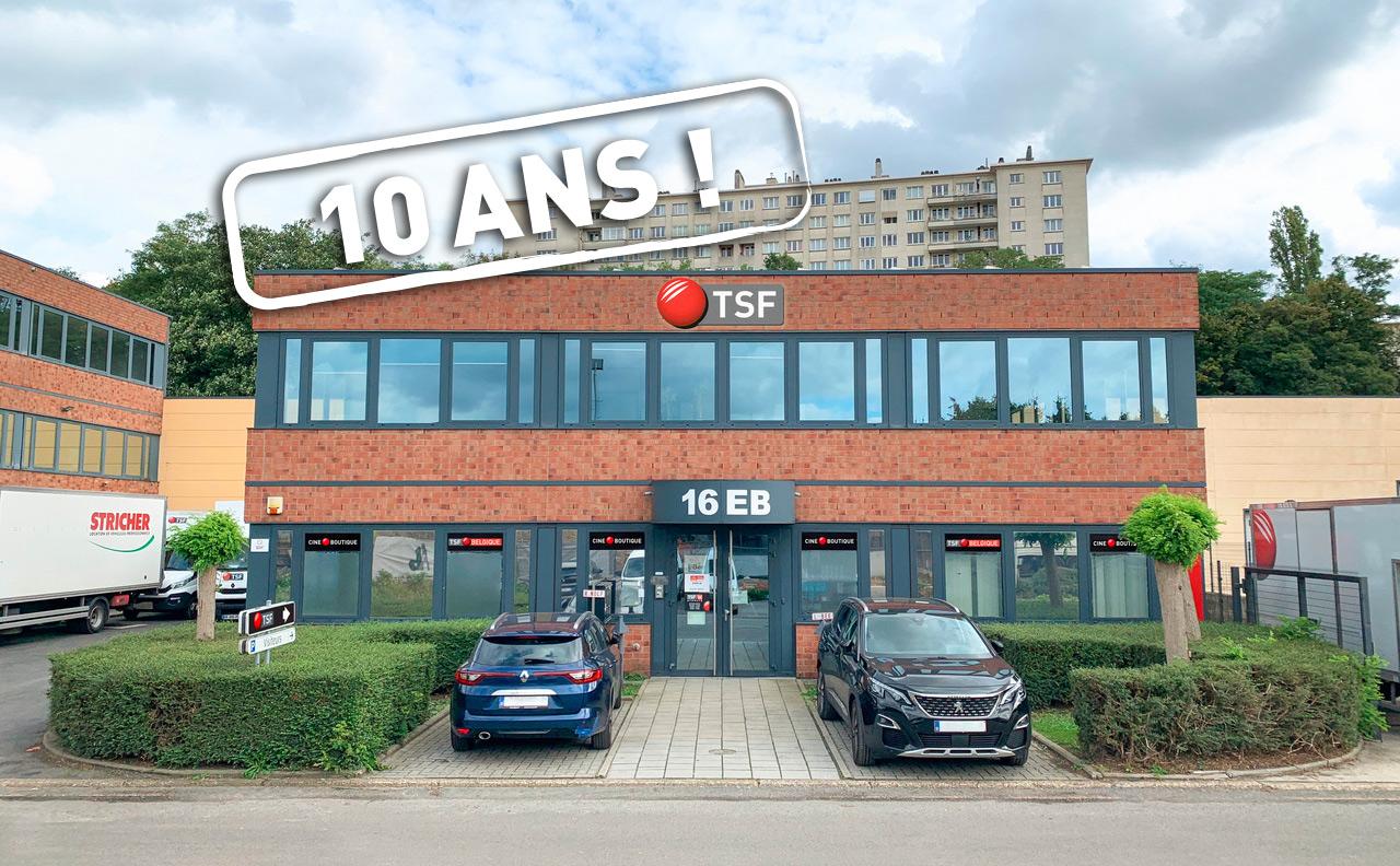 TSF.be fête ses 10 ans en fanfare : nouveaux locaux et changement d'appellation !